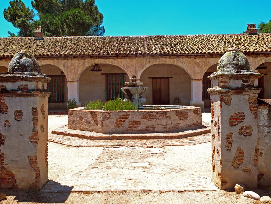 I gathered this image of the Mission San Miguel Arc'angel in June of 2011 while returnin...