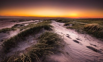the beautiful nature on Fanø is an exciting area to be in with your camera.  and it becomes no less beautiful at sunset
