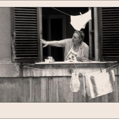 #272 Woman in Window