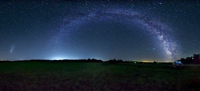 Splendid Night Sky