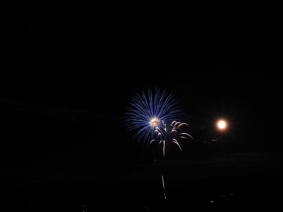 Full Moon Fireworks