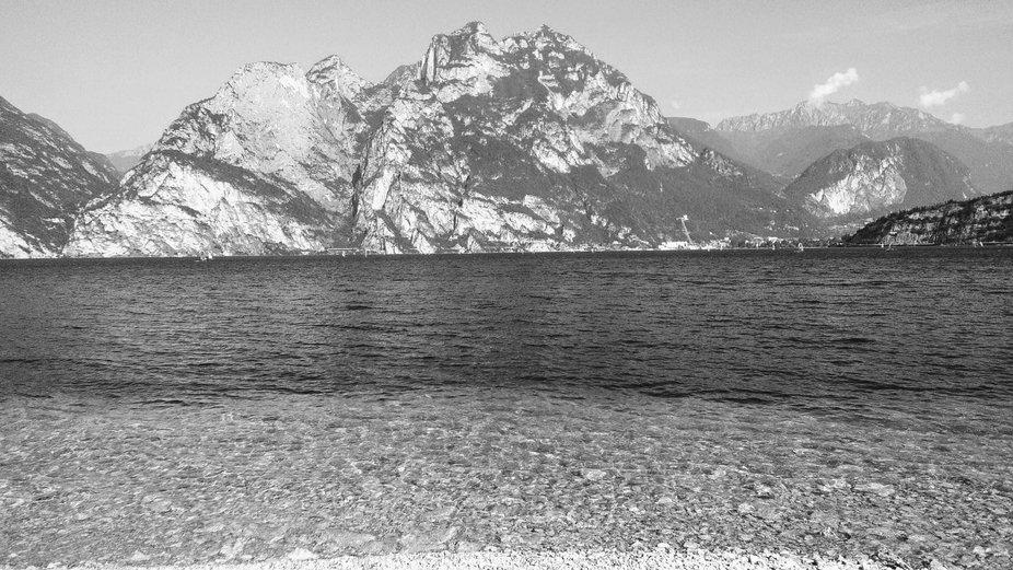 Mountains near the lake