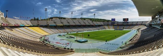 Estadi Olímpic Lluís Companys is a stadium in Barcelona, Catalonia, Spain