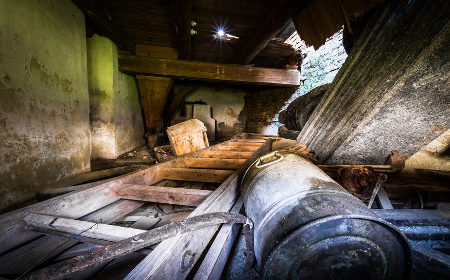 An old mill in Bavaria.