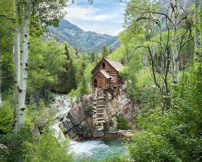 a summer of crystal mill