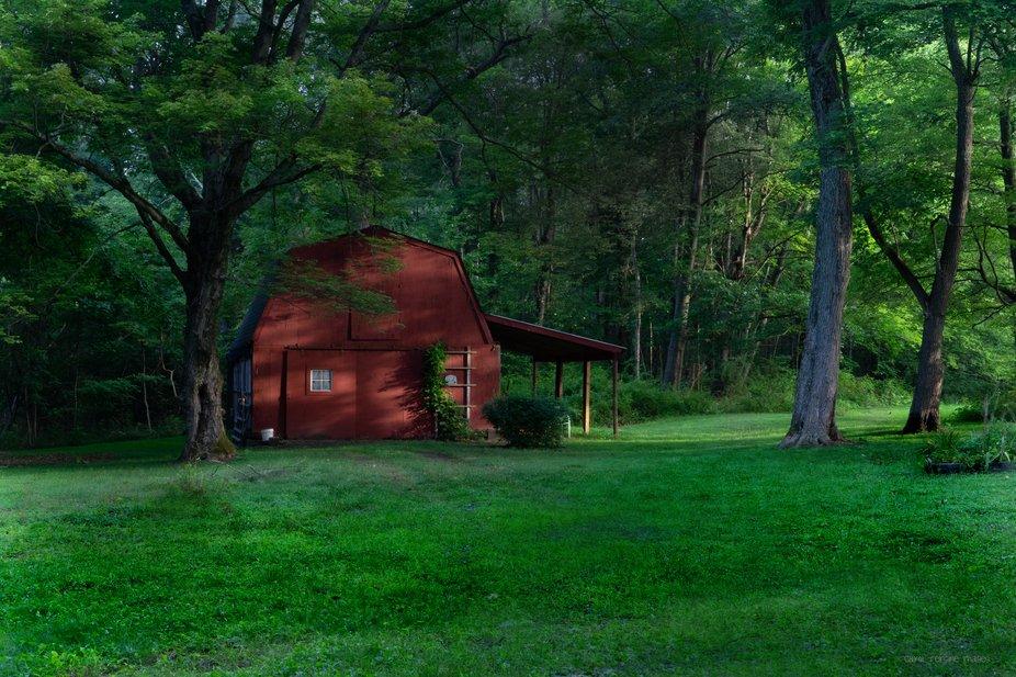 DSC07817 WW Barn at Sunrise