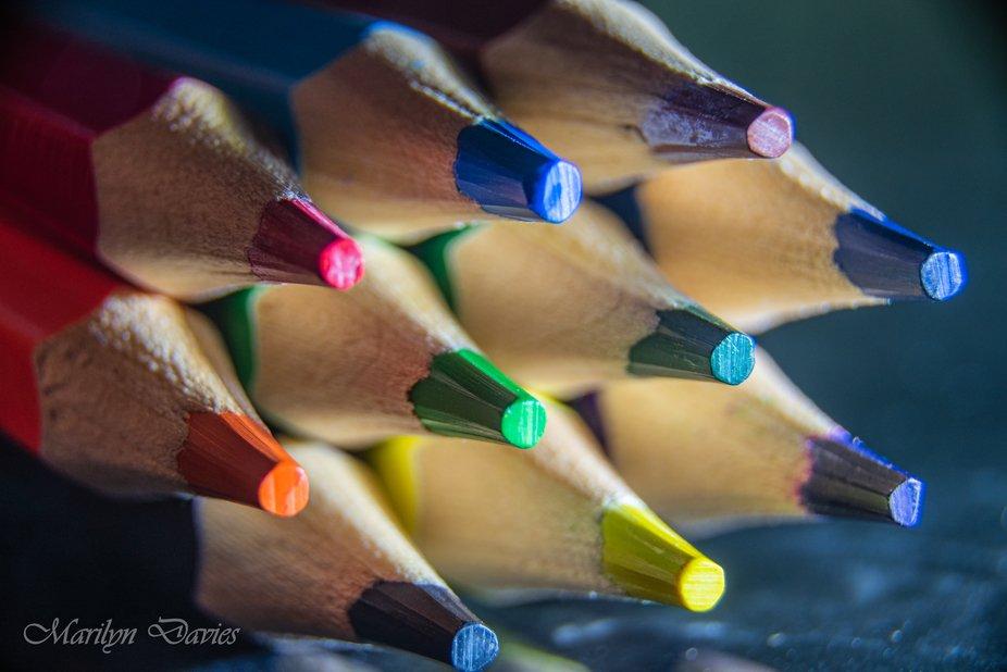 Pencils in Macro