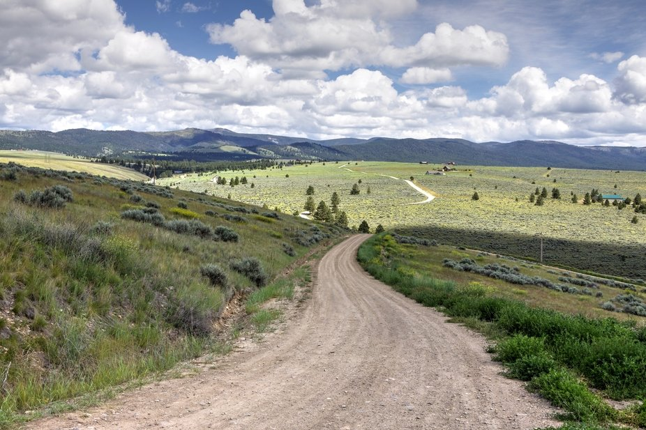 My friend took me on a drive through the country near her house in Florence, MT. Montana is so be...