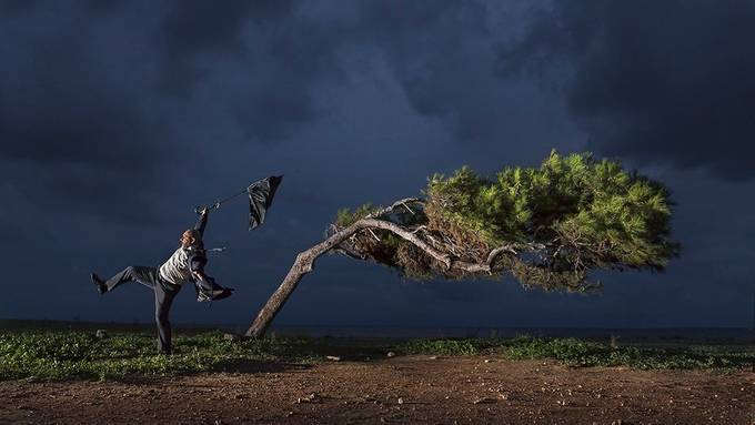 Gone with the wind by piterart - Creative Compositions Photo Contest Vol9