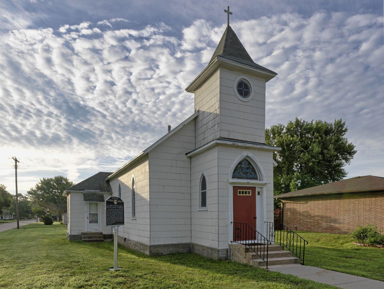 St. John's Episcopal Church Harvard, NE USA The first service was in 1882.