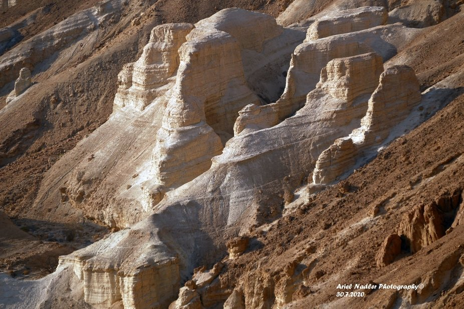 Photographed in the Dead Sea area, on the way to a moonlight trek in Peretzim stream 30.07.2020