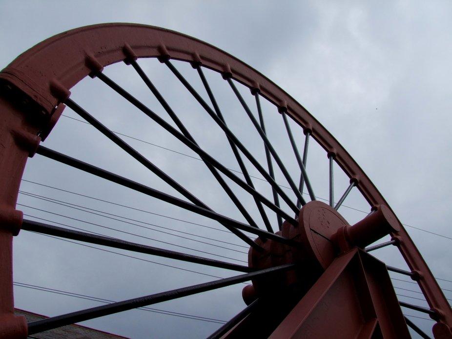 Northumberland, Woodhorn Colliery, Ashington Colliery, Duke Pit, Wheel, V