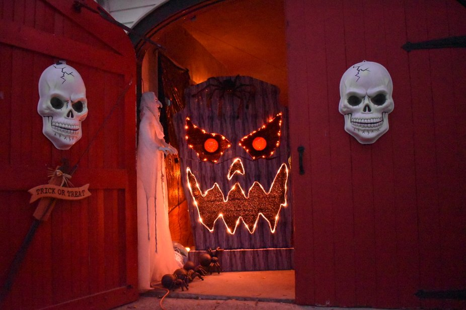 I enjoy taking photos of images with a variety of light. This was taken at my haunted garage that...