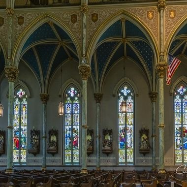 Cathedral Basilica of St. John the Baptist in Savannah, GA.