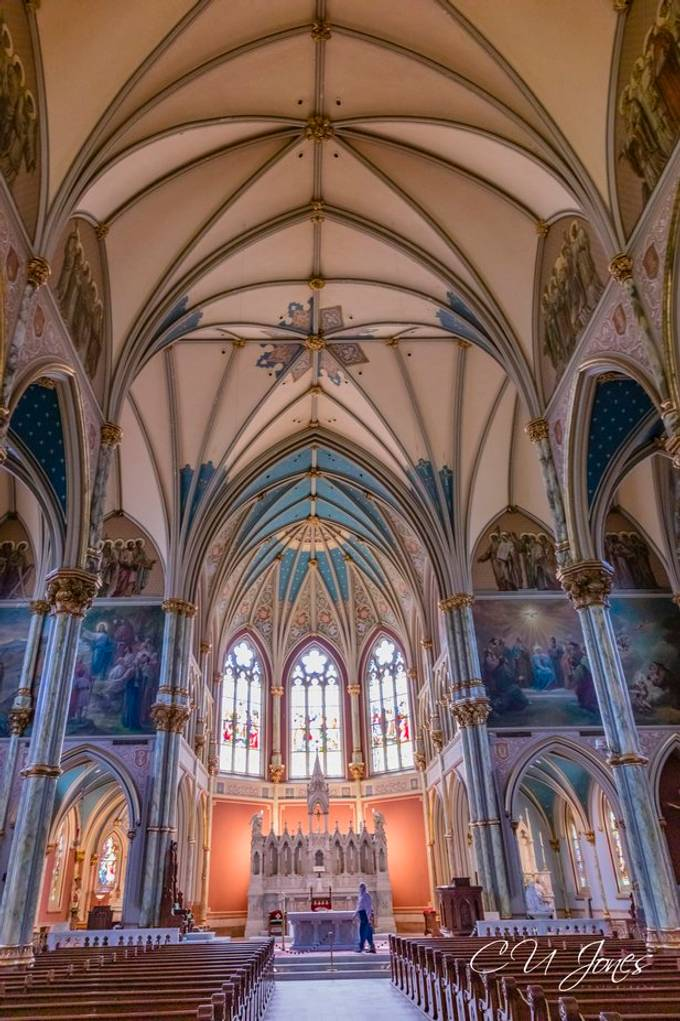 Cathedral Basilica of St. John the Baptist in Savannah, GA