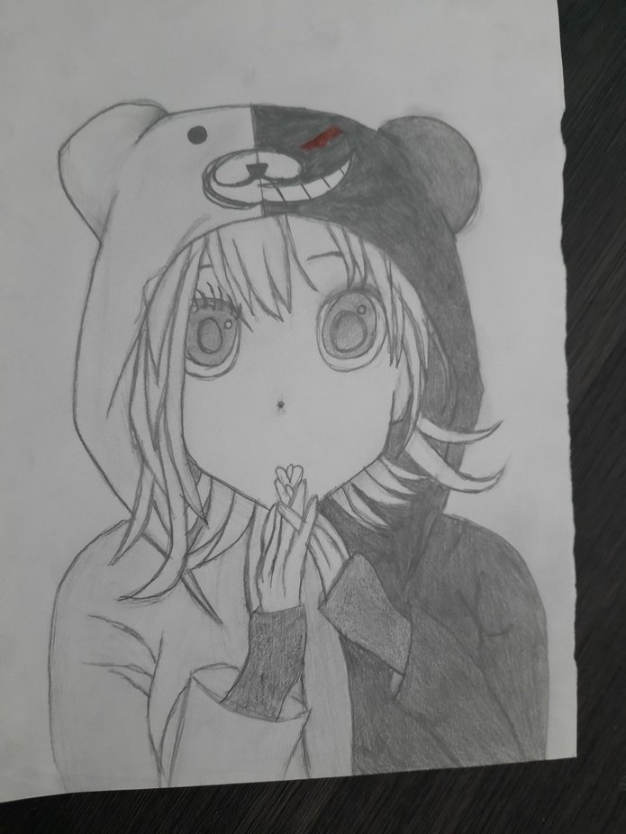 Anime panda girl *(for anime weebs)*
