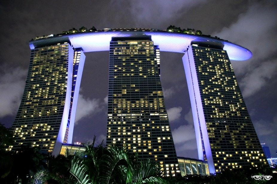 By night ...  Singapour 2017