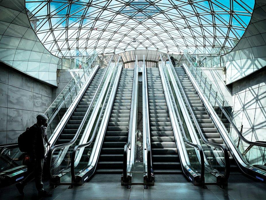 Beautiful station in Malmö.