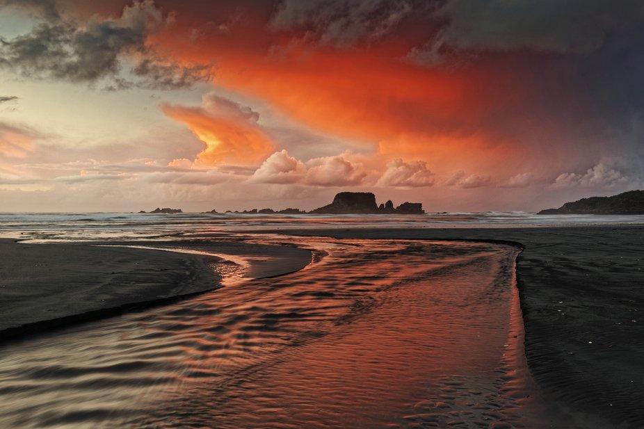 Tuarunga Bay sunset