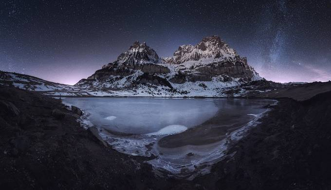 Night of Stars. by J.Manuel - My Incredible Landscape Photo Contest
