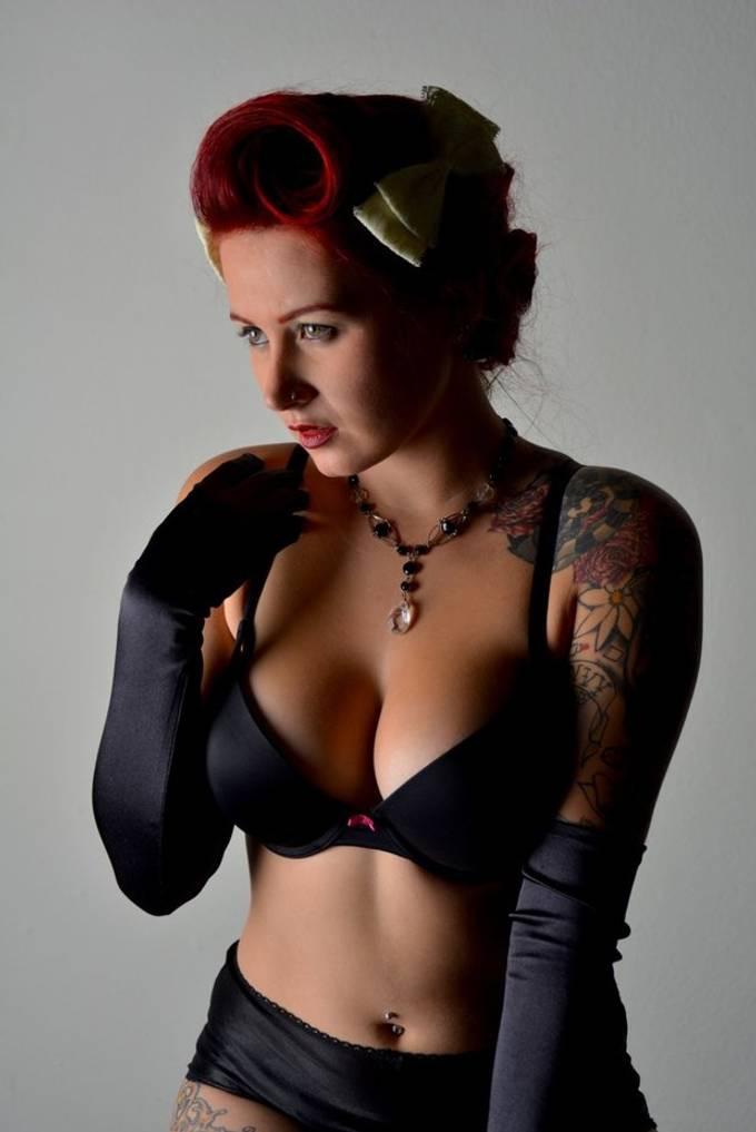 Model : Ruby Lee Riot  boudoir shoot 2015