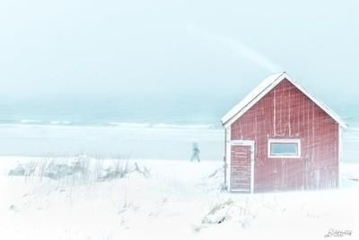 Winter storm in Norway