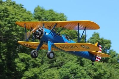 Boeing-Stearman Kaydet Biplane Trainer Aircraft - 1941