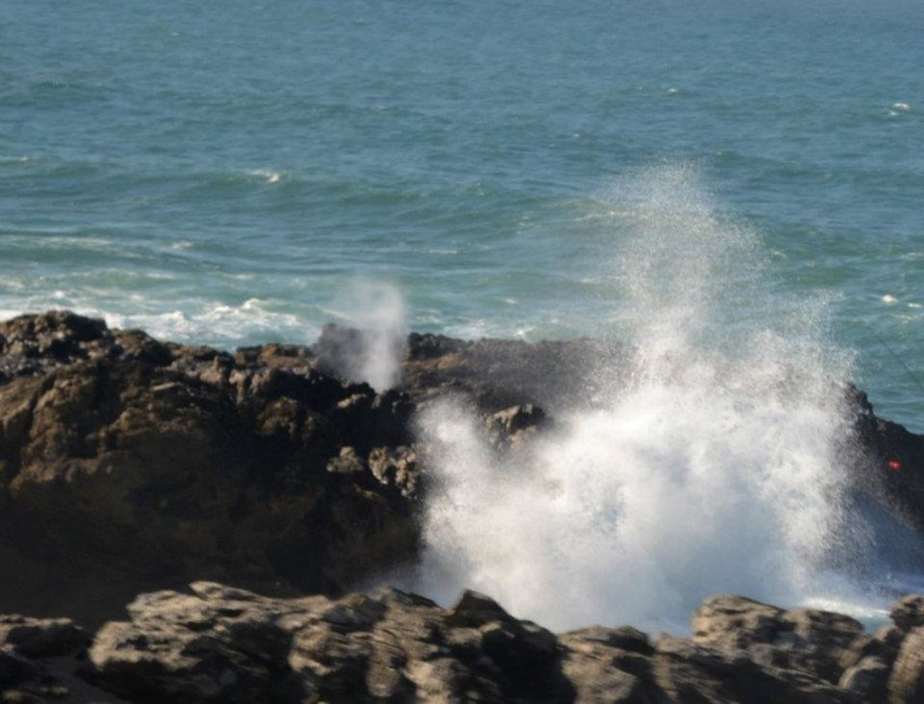 I love trying to get the crashing waves. They prove to be a challenge. Amman, Jordan