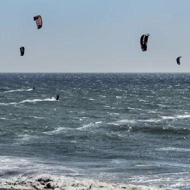 Santa Cruz Windsurfers_