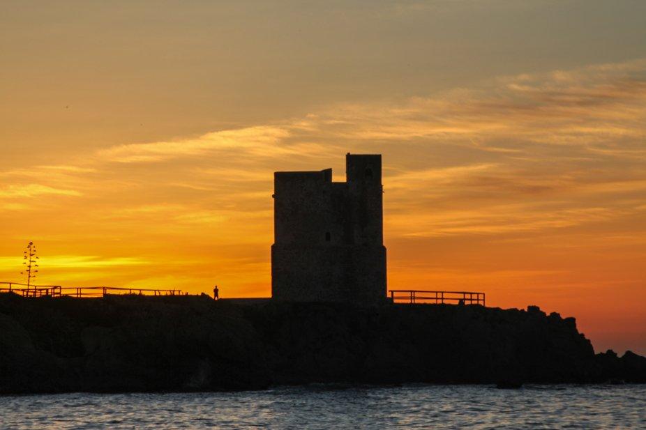 Sunrise at Torre de la Sal