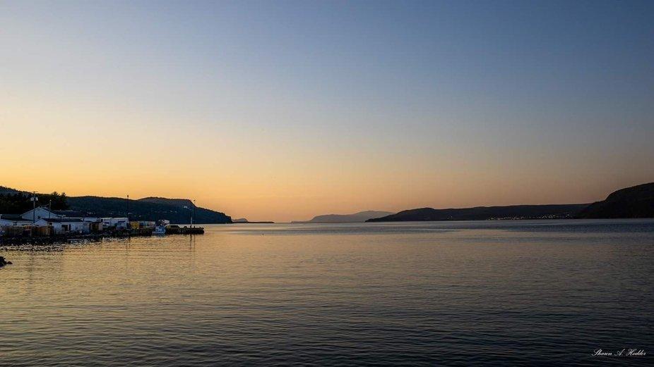 Sunset in Beniots Cove Newfoundland & Labrador Canada