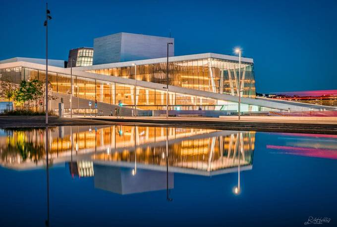 Opera house in Oslo, Norway by ritaholdhus - Pretty Europe Photo Contest