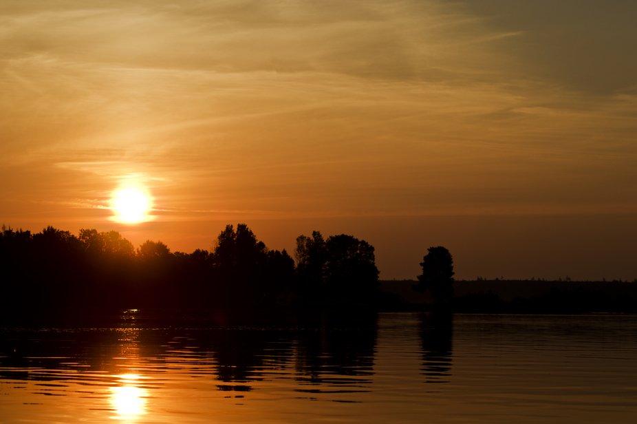 Sunrise on Moosehead Lake
