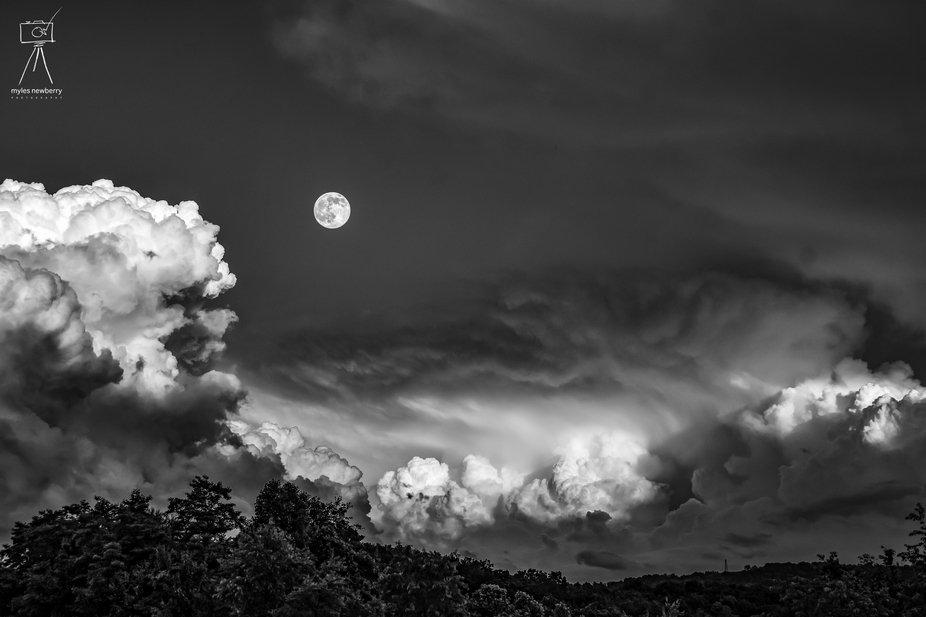Moon over West Virginia