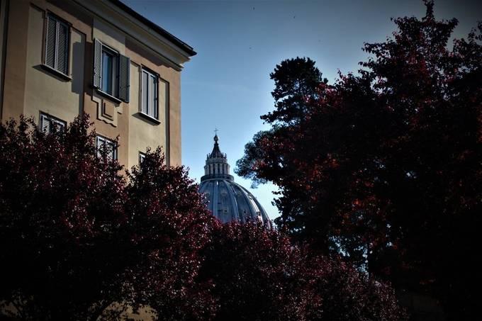 Just a peek of the Vatican