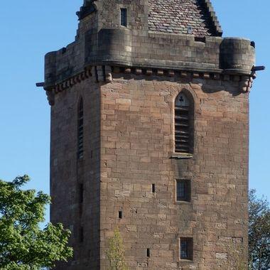 St John's tower in Ayr, Scotland