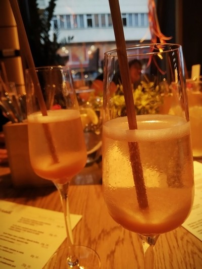 Bellini drinks