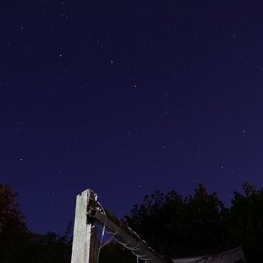 The night sky is full of interesting things, here is the Big Dipper Constellation.
