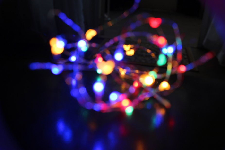 This is what happen if you play with lights.