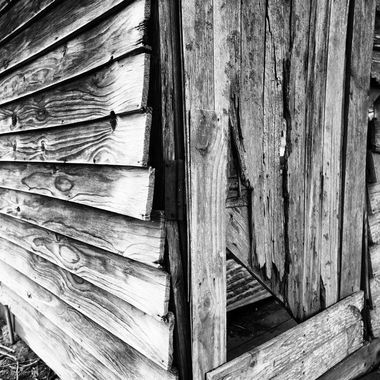 Weather boards and door
