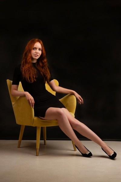 On the chair