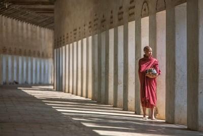 Monk, Bagan Myanmar