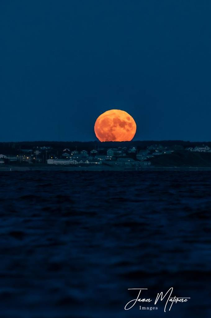 Moonrise Over Truro