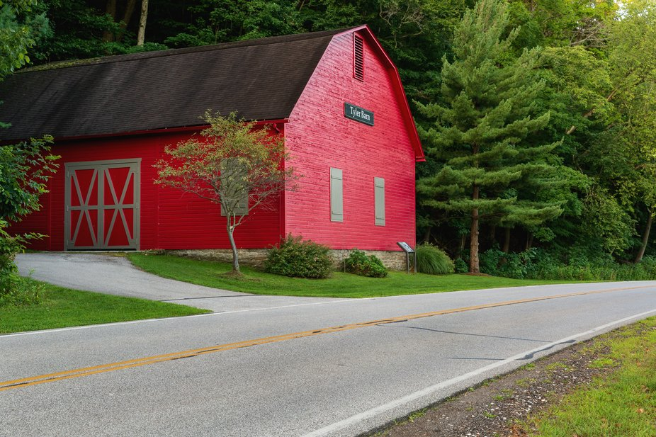 Tyler Barn in the Rocky River Reservation