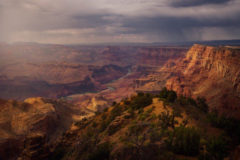 Sunset at tbe Grand Canyon