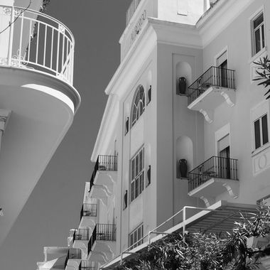 Beautiful hotel on the island of Capri