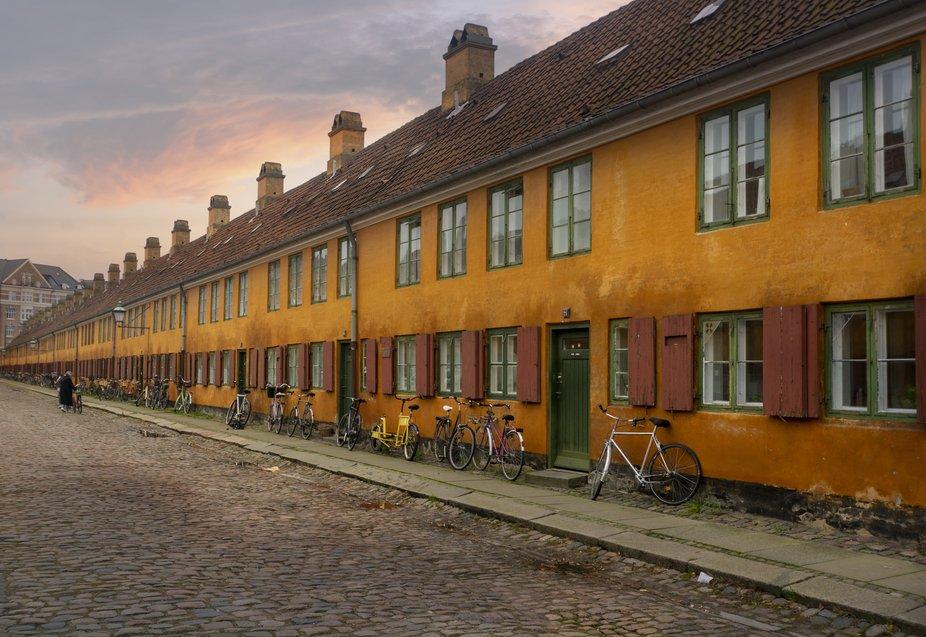 Nyboder,Copenhagen,Old Houses