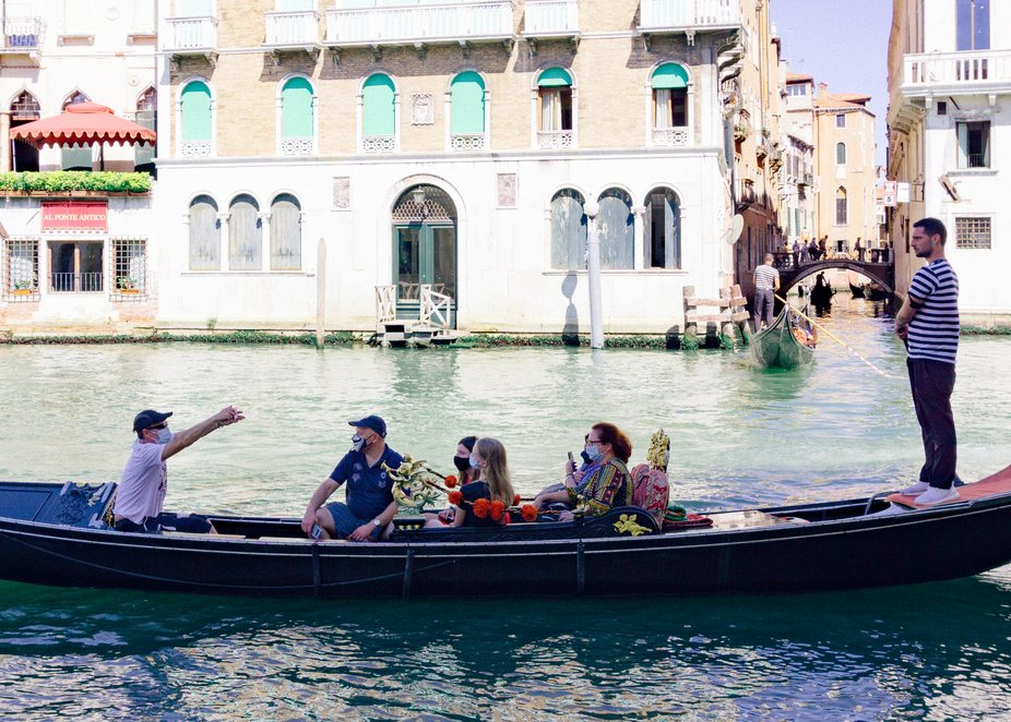 Tourism in Venice during Covid