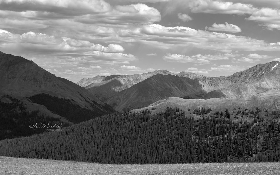 Independence Pass view