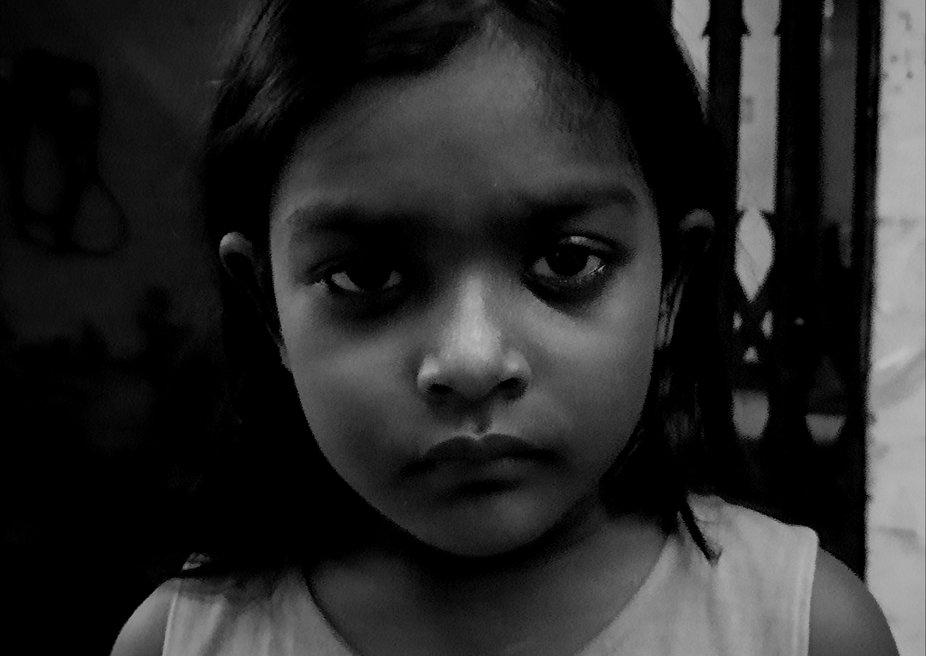 The deep dark eyes